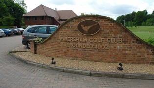 ACO GroundGuard preserves natural appearance of Faversham Golf course, providing a solution for ground stabilisation