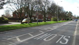 ACO KerbDrain 305 provides high performance SUDS solution on busy Nottingham commuter route.