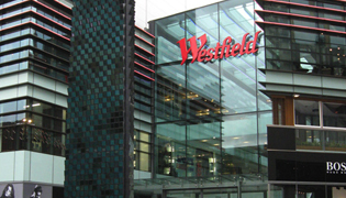 Westfield shopping centre Stratford