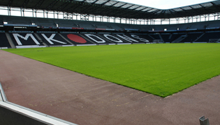 MK Dons drainage is pitch-perfect