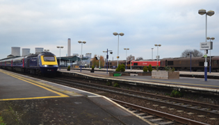 At Didcot station ACO provides a sustainable surface water management with quick installation &  minimal disruption