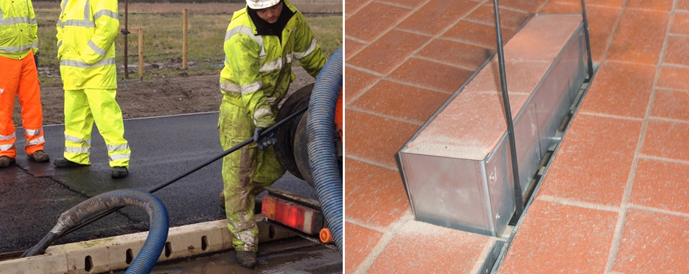 Maintenance KerbDrain jetting MultiDrain MD Brickslot access